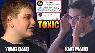 Yung Calc TRIED OUT for KNG.. MUST 5-0 our PRO! (CRAZY 1V1 Challenge)