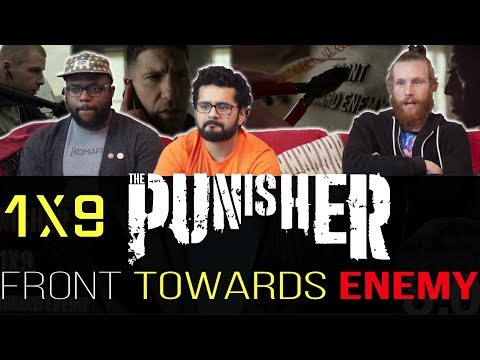 The Punisher - 1x9 Front Towards Enemy - Group Reaction