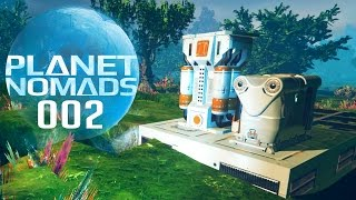 PLANET NOMADS [002] [Crafting und Elektrizität] GAMEPLAY Deutsch German thumbnail