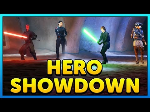 HERO SHOWDOWN on JABBAS PALACE GAMEPLAY - Star Wars Battlefront 2 thumbnail