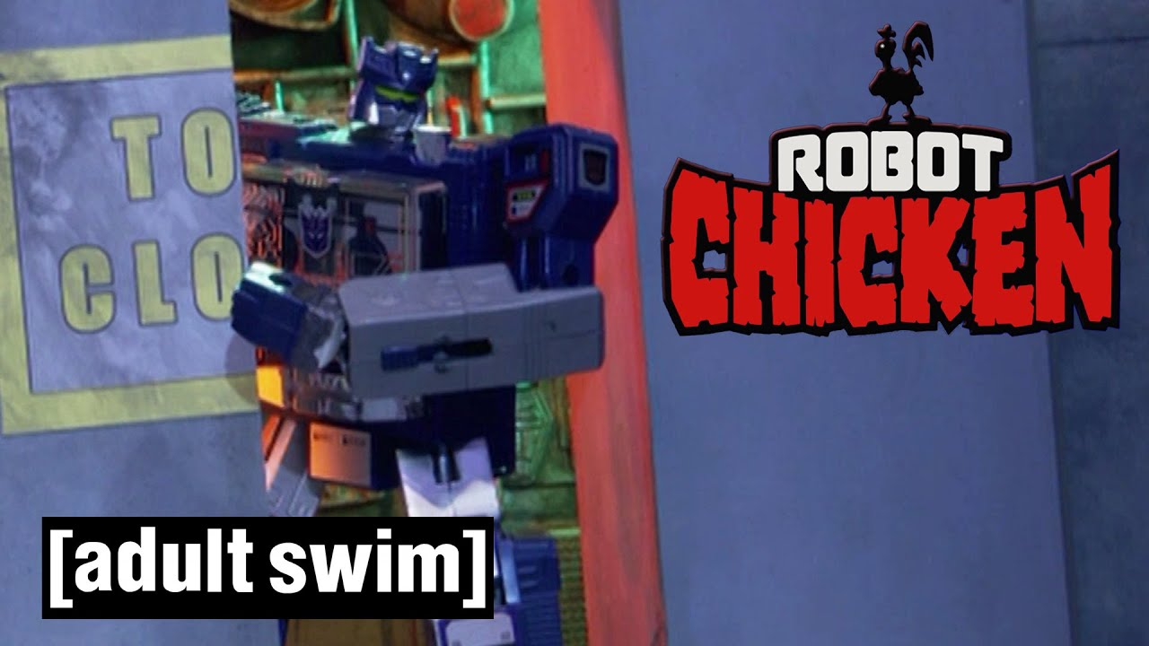 Robot Chicken | The Sad Fate of Soundwave | Adult Swim UK 🇬🇧
