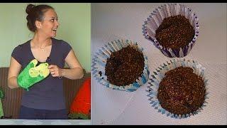 Шоколадно-ежевичные кексы | Выпечка | Завтрак | Десерт | Правильное питание | ПП-кухня