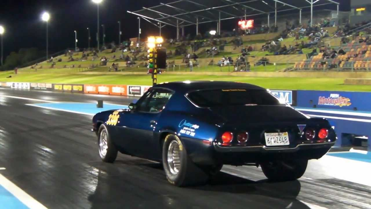 1970 Camaro Drag Racing Super Sedan Bracket Class Ss A