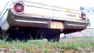 Reving The 64 Ford Galaxie