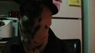 Moving Rorschach Mask (Not CG)