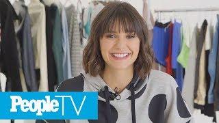 Nina Dobrev Shares Her Warning To Anyone Thinking About Getting Bangs | PeopleTV