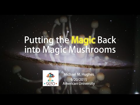 Putting the Magic Back into Magic Mushrooms: Psychedelics and Psi Phenomena • Michael M. Hughes