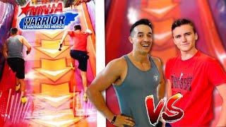 Ninja Warrior Challenge VS Tibo Inshape dans un Parc Indoor !