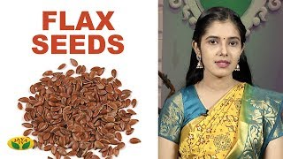 Health Benefits of Flax Seeds | Adupangarai Jaya TV - 27-02-2020 Cooking Show Tamil