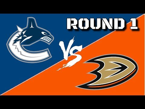Round 1 vs. Anaheim Ducks - NHL 18 - Vancouver Canucks Franchise Mode Ep. 18