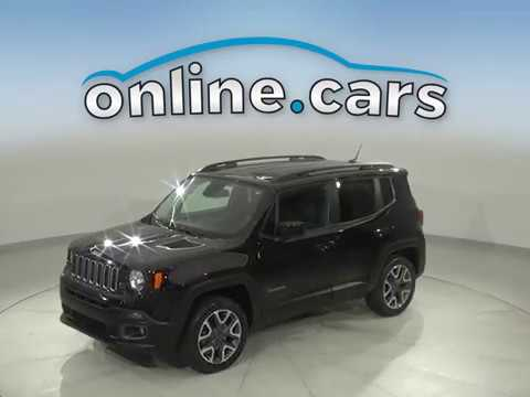 A16742TA Used 2016 jeep Renegade Black SUV Test Drive, Review, For Sale