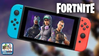 Fortnite - Over 2 Million Downloads in 24 Hours on Nintendo Switch (Switch Gameplay)