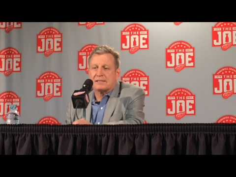 Former Red Wings goalie Mike Vernon has fond Joe Louis Arena memories