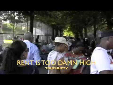 RENT TOO DAMN HIGH JIMMY McMILLAN TOUCH-UP TV