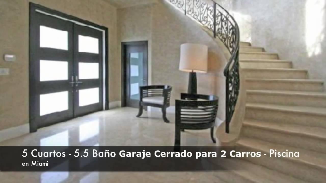 Lujosas casas en alquiler en miami youtube for Casas para alquilar