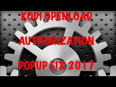 Repeat How to Remove Openload Stream Authorization on Kodi