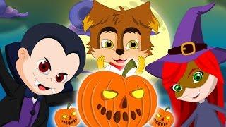 Halloween Night   Halloween Songs   Kids Spooky Songs and Nursery Rhymes