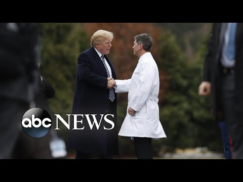 White House physician says Trump is 'fit for duty'