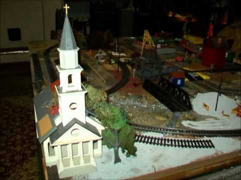 HO Scale Layout California Works With Buildings Scenery Materials Train Table