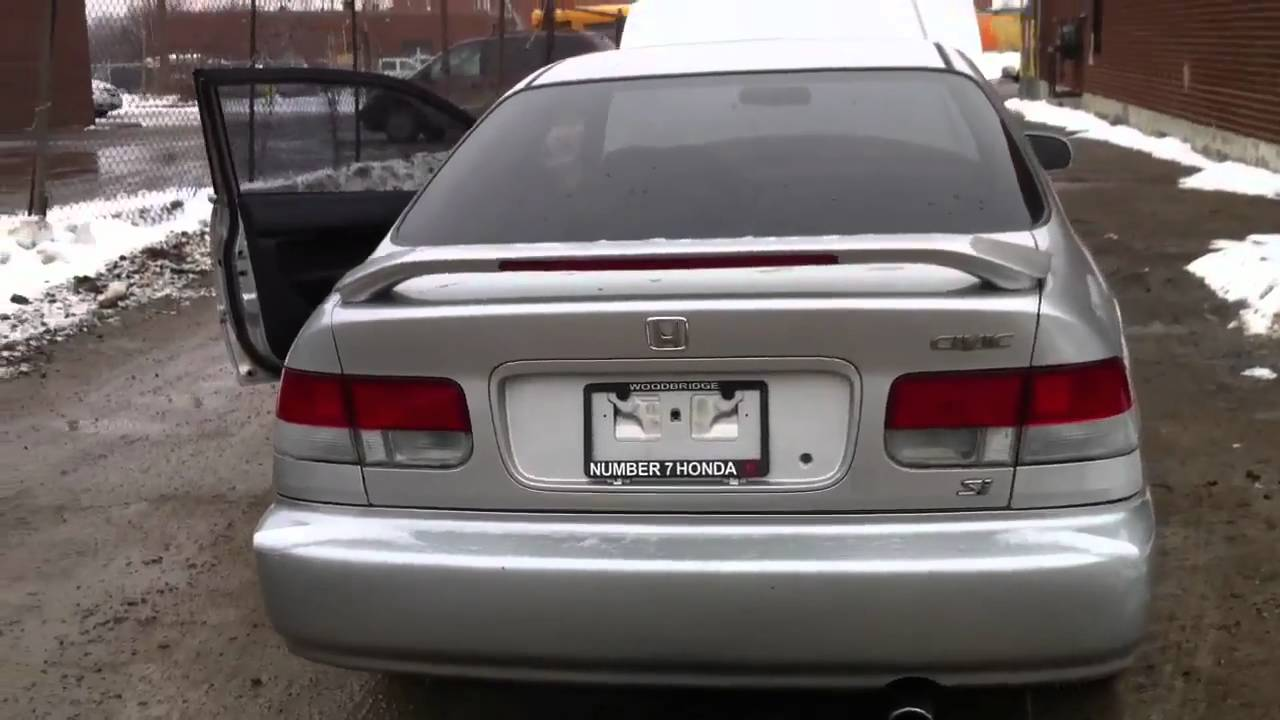 My 1998 Honda Civic Si Coupe Youtube