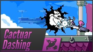 Rivals of Aether - Cactuar Dashing