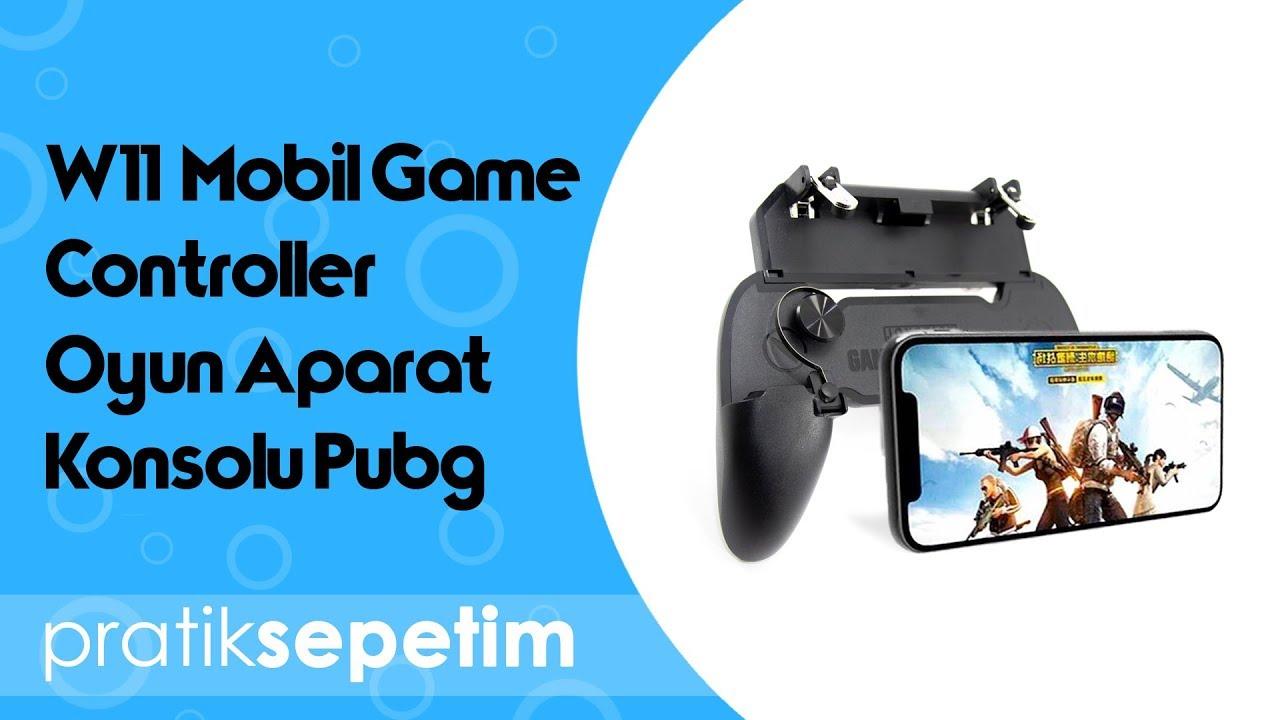 W11 Mobil Game Controller Oyun Aparat Konsolu Pubg Urun Tanitimi Youtube