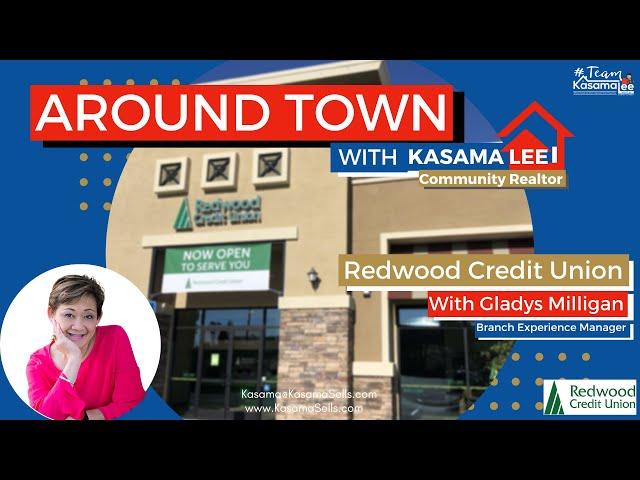 Tour with Gladys Milligan at Redwood Credit Union | Kasama Lee