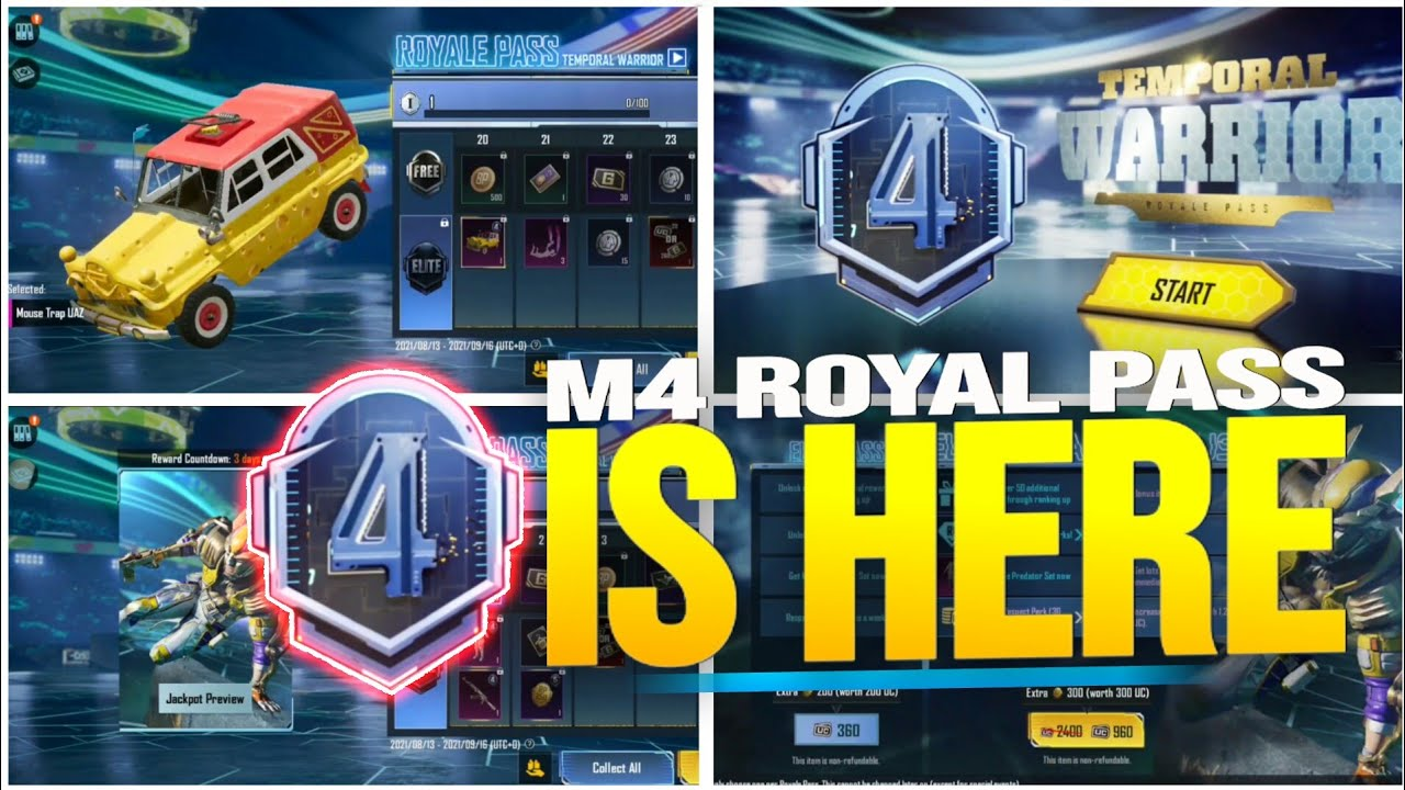 M4 ROYAL PASS IS HERE ( BGMI & PUBG ) - SAMSUNG,A3,A5,A6,A7,J2,J5,J7,S5,S6,S7,59,A10,A20,A30,A50,A70