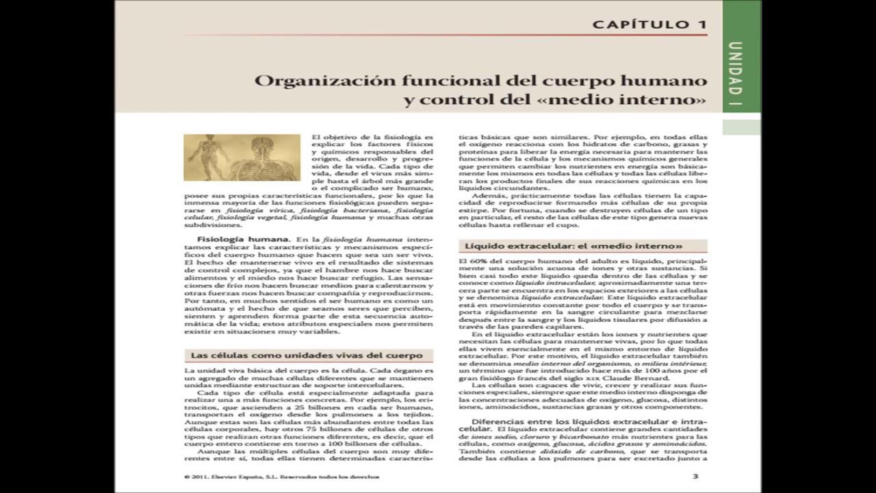 guyt 1 Organización funcional del cuerpo humano y control del «medio interno»