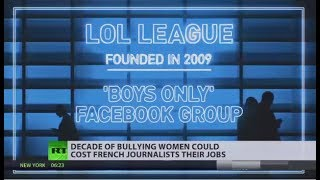 LOL League: French journalists suspended for harassing women online