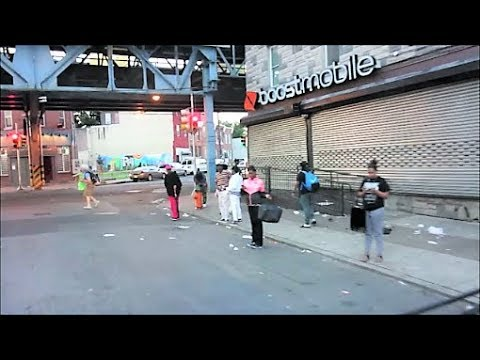 PHILADELPHIA'S KENSINGTON AVE HOOD PT 2 / RAW FOOTAGE