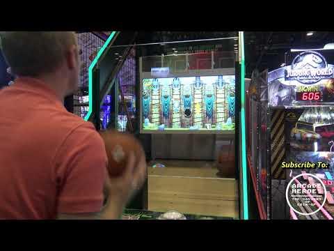 Arcade game combines Pop-A-Shot basketball with fighting off zombies