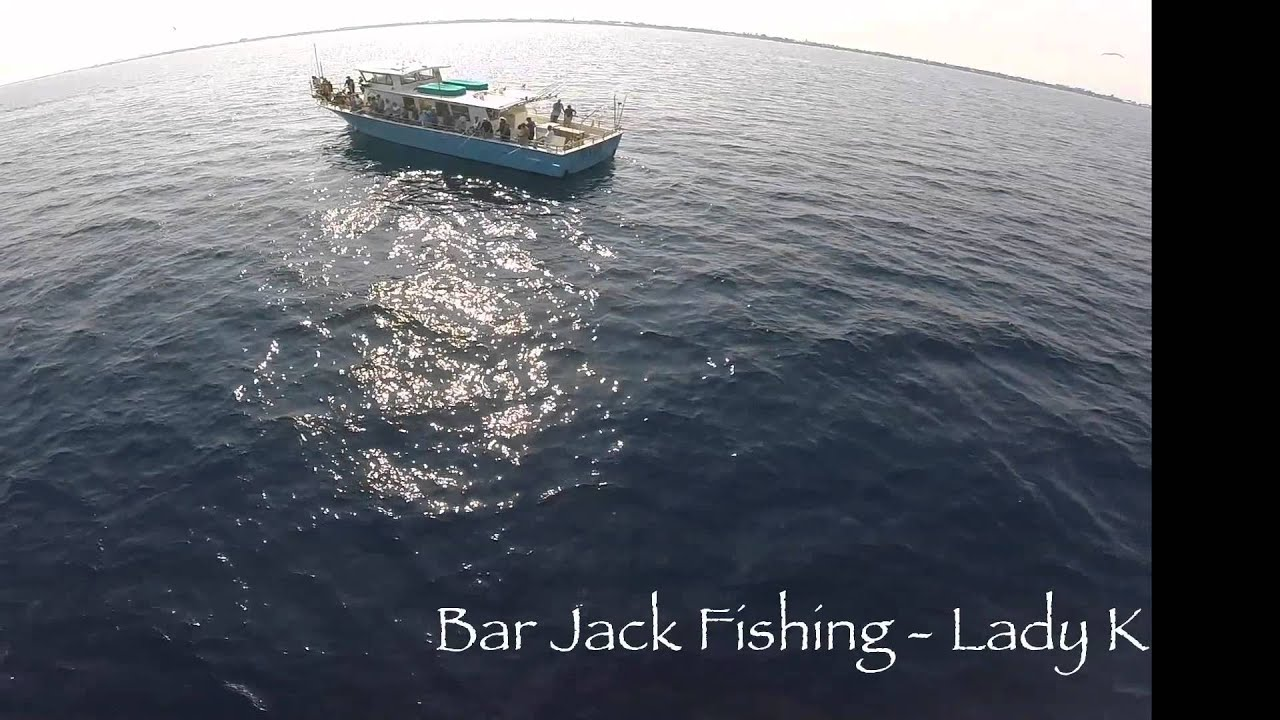 Bar jack fishing lady k boynton beach youtube for Bar jack fishing
