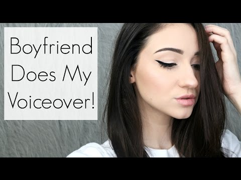 MY BOYFRIEND DOES MY VOICEOVER! Everyday Makeup Tutorial Feat. Corbyn Besson    BeautyChickee
