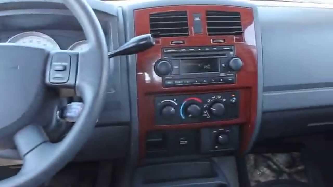2005 Dodge Dakota Red Red Stock B3031 Interior Youtube