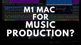 M1 Mac For Music Production? Mac Mini M1 2020 vs iMac i9 Logic Pro X Benchmarks