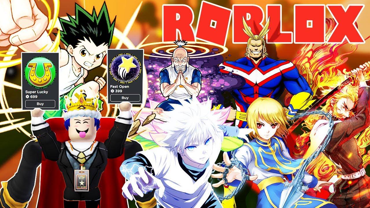 Roblox - MỞ KHÔNG RA NHÂN VẬT BÍ ẨN KHÔ MÁU MUA THÊM GAMEPASS SUPER LUCKY - Anime Fighters Simulator