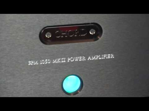 Chord Electronics SPM 1050 Mkii Stereo Power Amplifier Review - Live Recorded Demo Dead Can Dance