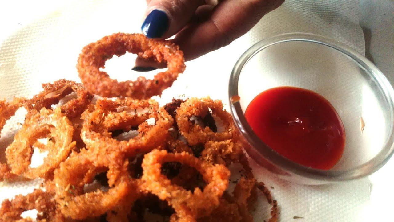 Onion Rings Crispy Onion Rings Recipe How To Make Onion Rings