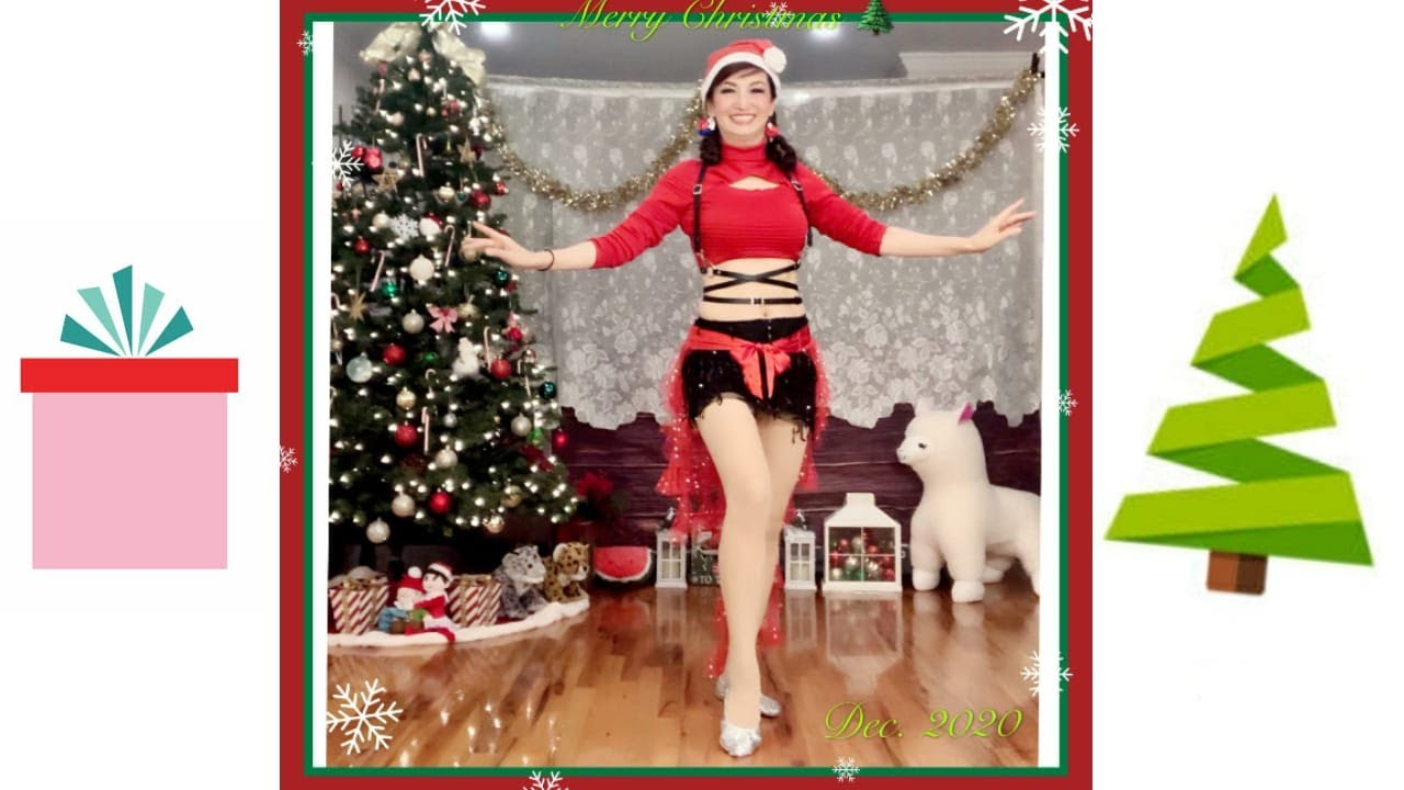 Holiday Dance 2020 from NS Bellydance Workouts students.