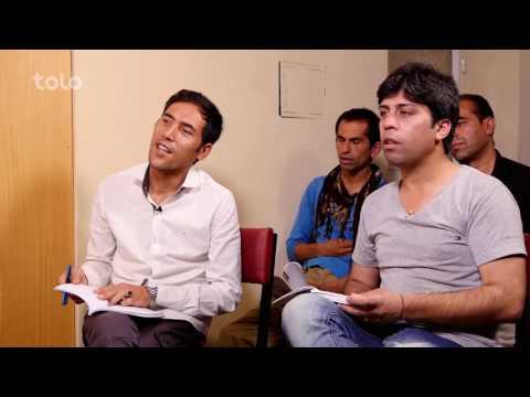 استاد زبان دری که  انگلیسی تدریس میکند - شبکه خنده / Dari language teacher who teaches English