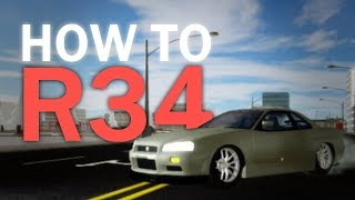 How to Skyline R34 [ROBLOX Vehicle Simulator]