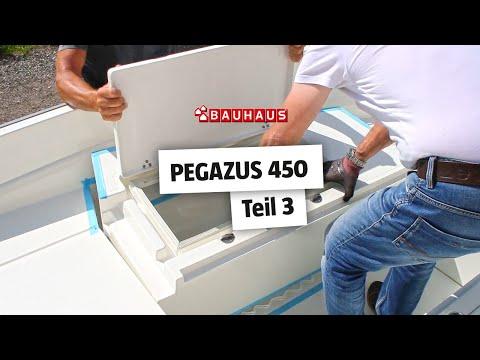 Motorboot selber bauen ► Montage: Backskisten, Badeleiter & Ankerrolle ⚓ BAUHAUS Nautic (Teil 3)