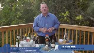 How To Make A Tiki Torch Out Of An Empty Wine Bottle | Kevin Fritz Mlo# 220254
