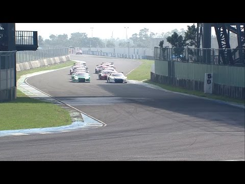 Round 9 - Full Race from the Penbay International Circuit in Taiwan| Audi R8 LMS Cup 2016