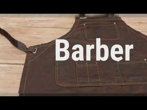 Barber Apron Australia 💇 By Aussie Chef Clothing Company
