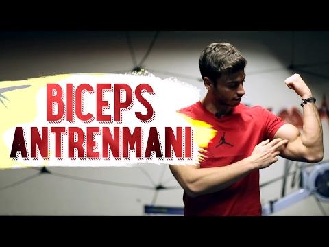 Biceps Antrenmanı | Kol Kası Egzersizleri | Mağara Adamı 🏋💪