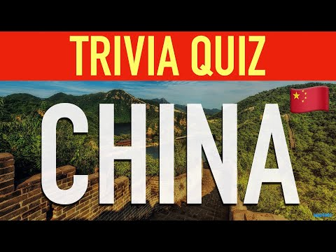 Trivia Questions And Answers (China 中国 Facts Quiz)   Learn More About Chinese History And Culture