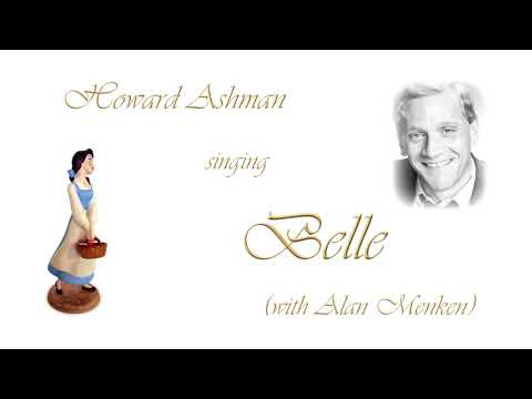 Howard Ashman singing Belle with Alan Menken