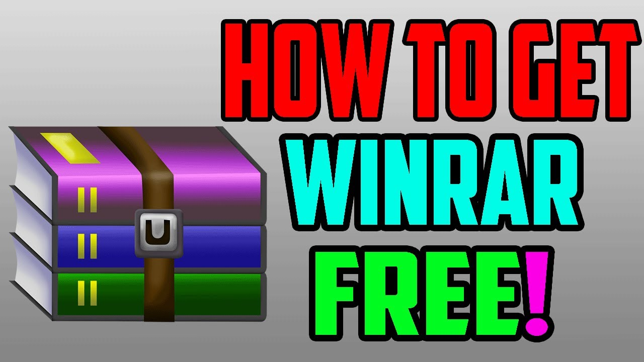 How To Get WinRAR For Free for Windows 7, Windows 8 , Windows 10 , Mac  (Working 2019)